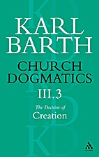 Church Dogmatics 3/3: The Doctrine of…