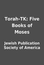 Torah-TK: Five Books of Moses by Jewish…