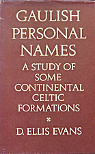 Gaulish personal names: a study of some…