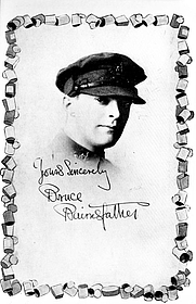 """Author photo. From """"Bullets & Billets,"""" 1916 (Project Gutenberg)"""