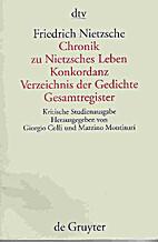 Sämtliche Werke Bd. 15. Chronik zu…