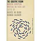 The creative vision; modern European writers…