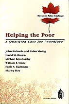 Helping the poor: A qualified case for…