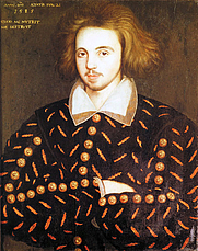 Author photo. Christopher Marlowe while Cambridge University