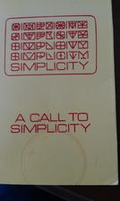 A call to simplicity by Donald L. Norbie J.…