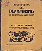 Jean Cocteau. Les Enfants terribles. 32 bois…