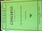 Concerto in A minor, No. 177- For Two…