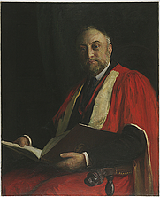 Author photo. English: Portrait of astronomer Edward Charles Pickering by the American artist Sarah Gooll Putnam, oil on canvas. 42 1/8 in. x 34 3/8 in. Signed, S.G. Putnam. Courtesy of the Harvard University Portrait Collection, Harvard University, Cambridge, Mass.