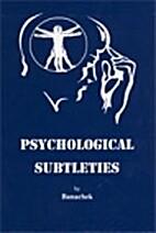 Psychological Subtleties by Banachek