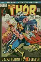 Thor # 201 by Gerry Conway