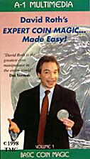 David Roth Expert Coin Magic Made Easy,…