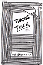 Thanks, Tiger. by Dani Tanber