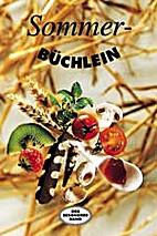 Sommerbüchlein by Friderun Bodeit