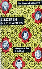 Liederen en romances : van Hadewych tot…