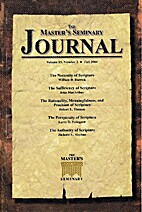 The Master's Seminary Journal Vol 15 No 2:…