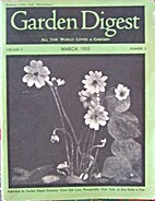 Garden Digest Volume 04 Number 03 1933 March…