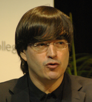 Author photo. Jaime Bayly. Photo by Rodrigo Fernández.