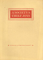 A society's chief joys; an exhibition from…