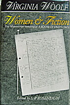 Women & Fiction: The Manuscript Versions of…
