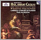 Hail, bright Cecilia! by Henry Purcell