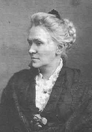 Author photo. Matilda Joslyn Gage (1826-1898)