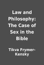 Law and Philosophy: The Case of Sex in the…