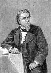 """Author photo. Source: """"Bibliothek des allgemeinen und praktischen Wissens. Bd. 5"""" (1905)"""