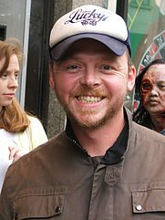 Author photo. Simon Pegg. Photo by Paul Ewen.
