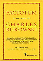 Factotum (Flyer No. 7) by Charles Bukowski