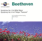 Beethoven: Symphonies 4 & 6 [CD] by Ludwig…