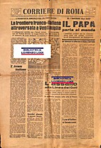 Corriere di Roma : n.89 : sabato 2 settembre…