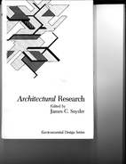Architectural research / Environmental…