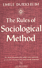 Rules of Sociological Method by Emile…