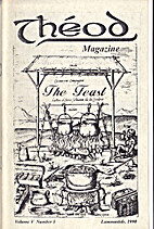 Theod Magazine Vol. V Number 3 Lammastide…