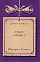 Pages choisies by Arthur Rimbaud