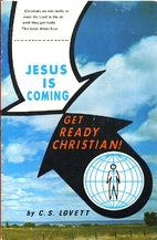 Jesus Is Coming Get Ready Christian by C. S.…