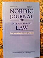 Nordic Journal of International Law/Acta…