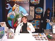 Author photo. 2002 San Diego ComicCon. (c) T. Hedden