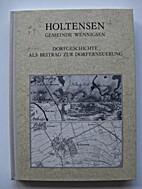 Holtensen, Gemeinde Wennigsen :…