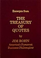 Excerpts from the Treasury of Quotes by Jim…