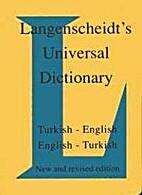 Langenscheidt's Universal Turkish…