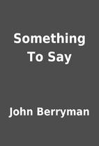 John Berryman google books