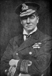 Author photo. Image from <b><i>Indiscretions of the naval censor</i></b> (1920) by Sir Douglas Brownrigg