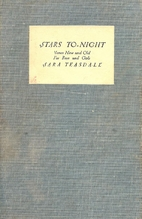 Stars To-Night: Verses New and Old for Boys…