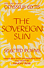 Sovereign Sun: Selected Poems by Odysseus…