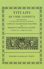Ab urbe condita, libri 21-25 [in Latin] by…