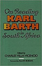 On reading Karl Barth in South Africa by…