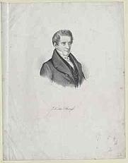 Author photo. David Friedrich Strauss (1808 - 1874) / Photo © <a href=&quot;http://www.bildarchivaustria.at&quot;>ÖNB/Wien</a>