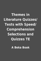 Themes in Literature Quizzes/Tests with…