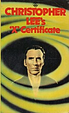 Christopher Lee's 'X' Certificate by…